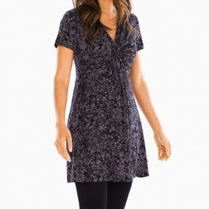 SOMA Twist Front Tunic in Dancing Shadow Excalibur